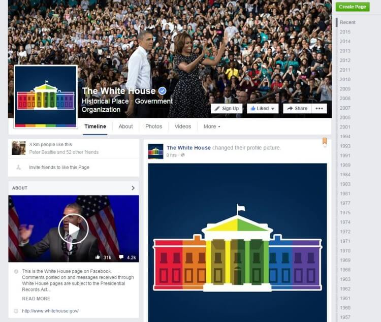 06262015_The White House _Facebook