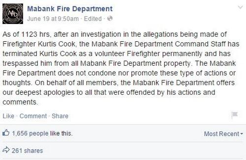 Facebook - Mabank Fire Department