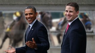 WCJ images Obama horses