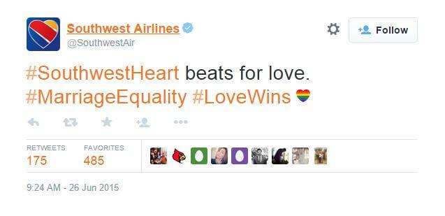 southwest airlines tweet