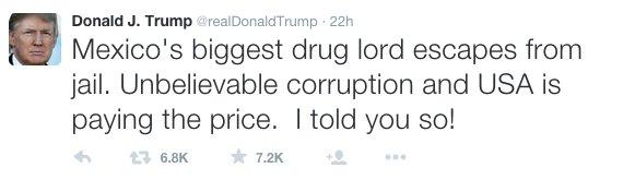 Image Credit: Twitter/Donald J. Trump