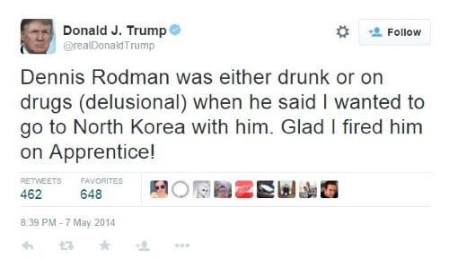 Donald Trump - Dennis Rodman