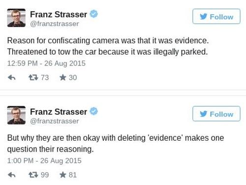 Franz Strasser tweets