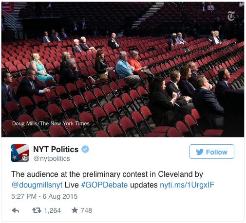 Image Credit: Twitter/NYT Politics