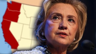 WJ images Hillary vs Bernie