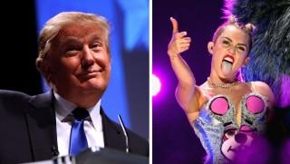 WJ images Trump Cyrus