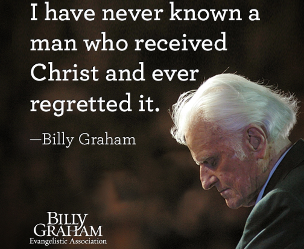 Best Billy Graham Quotes Billy Graham's 8 Best Quotes Ever Best Billy Graham Quotes