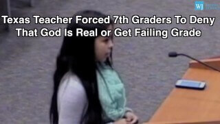 Students Forced To Deny God
