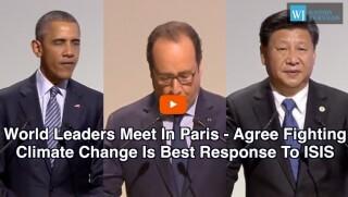 Obama, Hollande, Jinping