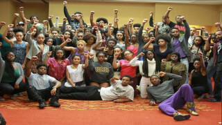 The Afrikan Black Coalition. Image credit: Twitter