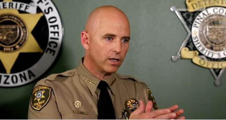 Pinal County Sheriff Paul Babeau. Image credit: Twitter