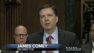 FBI Director James Comey. Image Credit: Screenshot ABC News Video