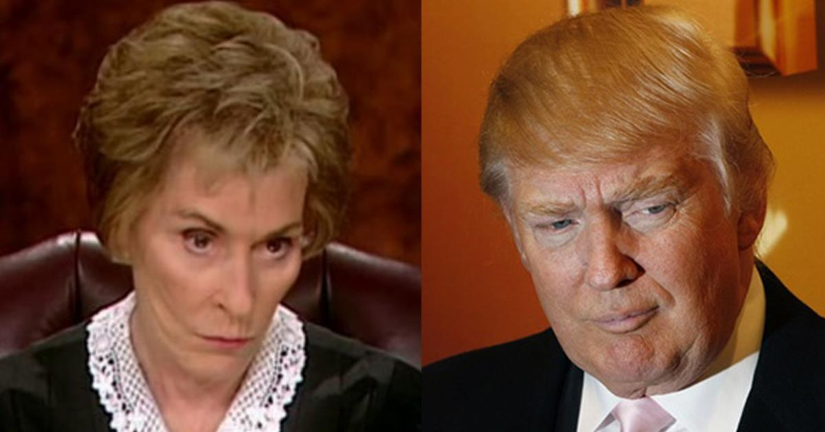 Judge Judy Shocks Audience With 4 Blunt Words on Trump ...