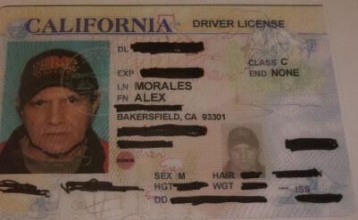 Alex Morales 0102 DMV