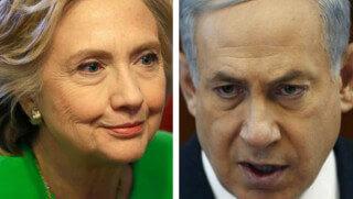 Hillary Clinton-Netanyahu 0102