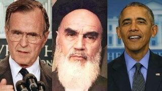 Bush_Khomeini_Obama