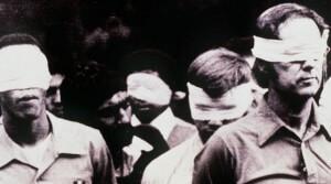 U.S. Hostages held in Iran.