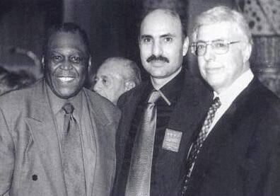Rezko (Center) and Othman (Right) in 1999.