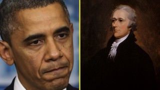obama and hamilton