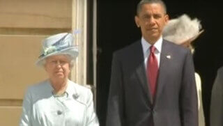 obama queen eliz