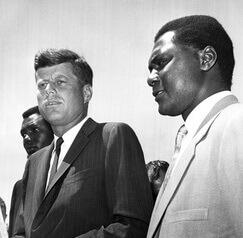 JFK with Tom Mboya