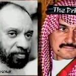 Al-Mansour (L) and Alwaleed bin Talal (R)