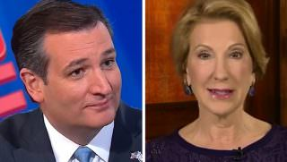 cruz and fiorina