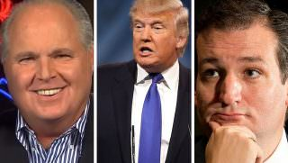 cruz and trump and limbaugh