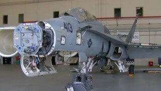 stripped jet