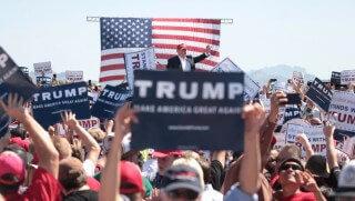 trump az crowd