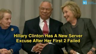 Colin Powell, Hillary Clinton