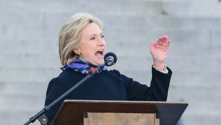 clinton speaking