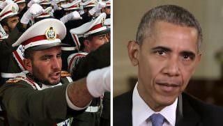 iran military and obama