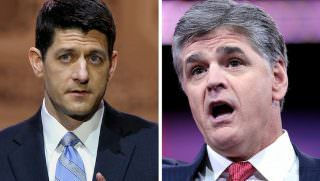 paul ryan and hannity