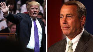 trump and boehner