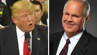 trump and limbaugh