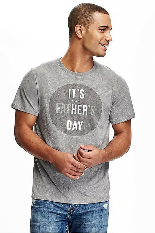 Old Navy Father's Day T-shirt