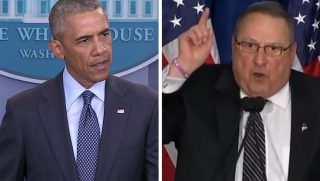 lepage and obama