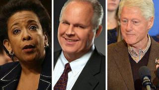 limbaugh, lynch, clinton