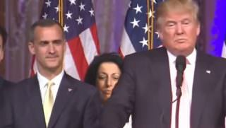 trump speech w lewandowski