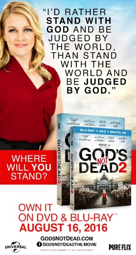 God's Not Dead 2 billboard