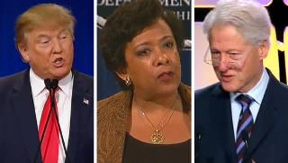 trump, lynch, clinton