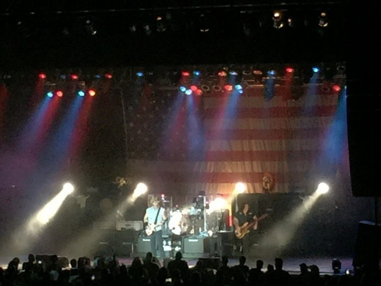 Ted Nugent performing in Muskogee, OK on Sept. 3