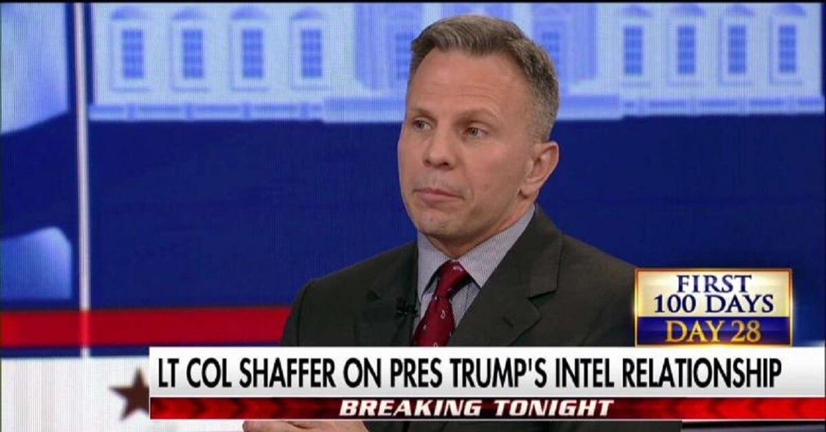 Tony Shaffer: Obama Laid