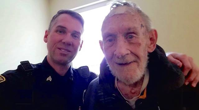 Kind Officer Helps Man with Dementia