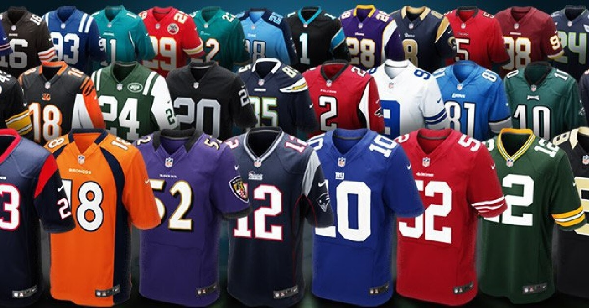 Look Which Nfl Jersey Is Now A Best Er