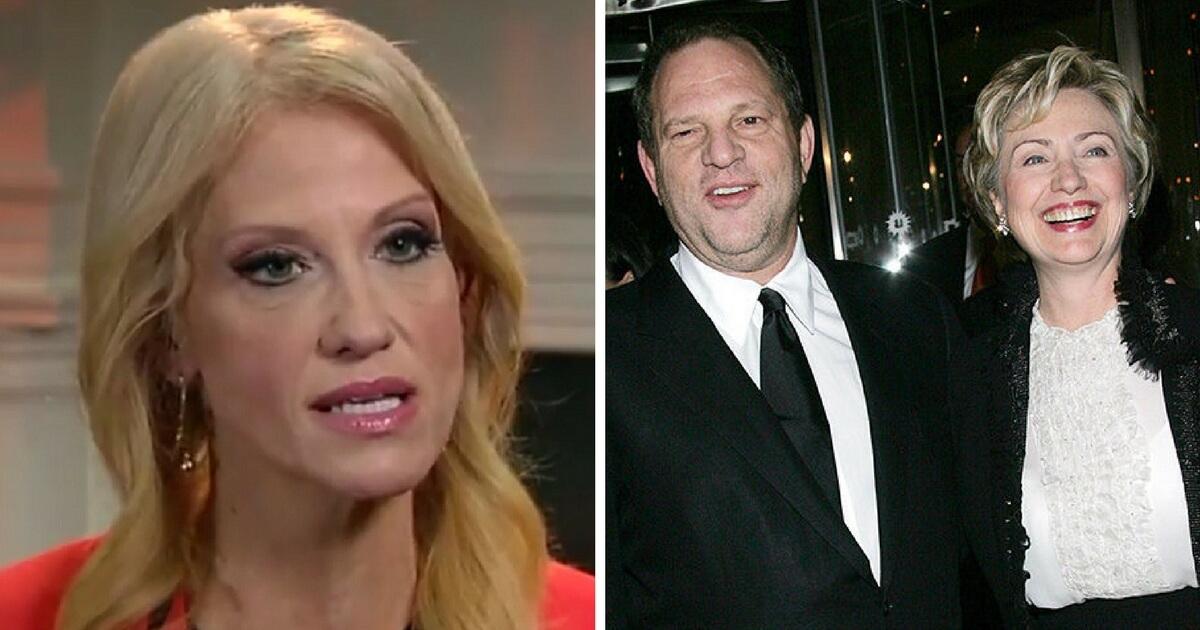 Kellyanne Conway Points Out Damning Detail Of Hillary's Weinstein Statement