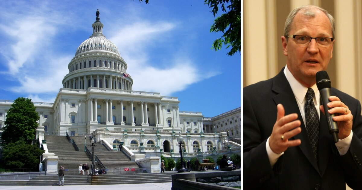 Capitol Hill and Kevin Cramer