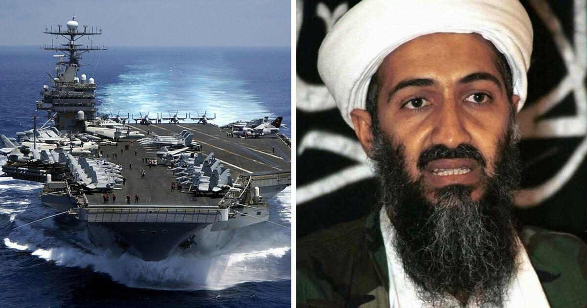 Carl Vinson, Osama Bin Laden