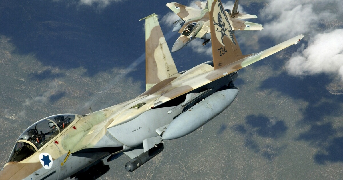 Israel Launches New Strike Against Syria as Tensions Rise over Iran's Encroachment on Jewish State
